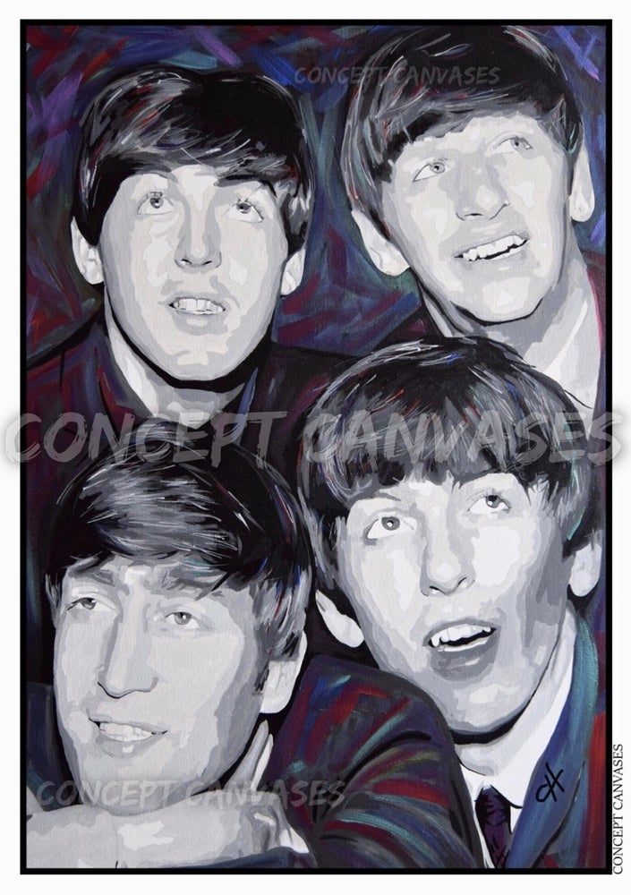 Image of The Beatles A3 Print