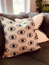 All seeing eye pillow cover