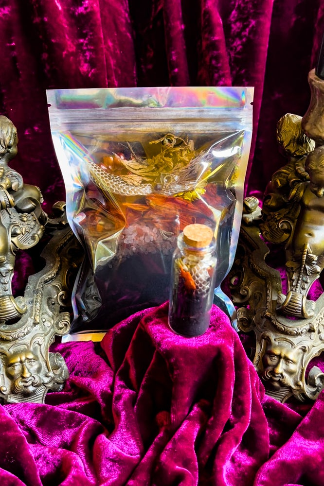 Image of Self Resurrection Ritual Candle, Ritual Bath Salts & Spell Jars - Ancient Pathways And Traditions