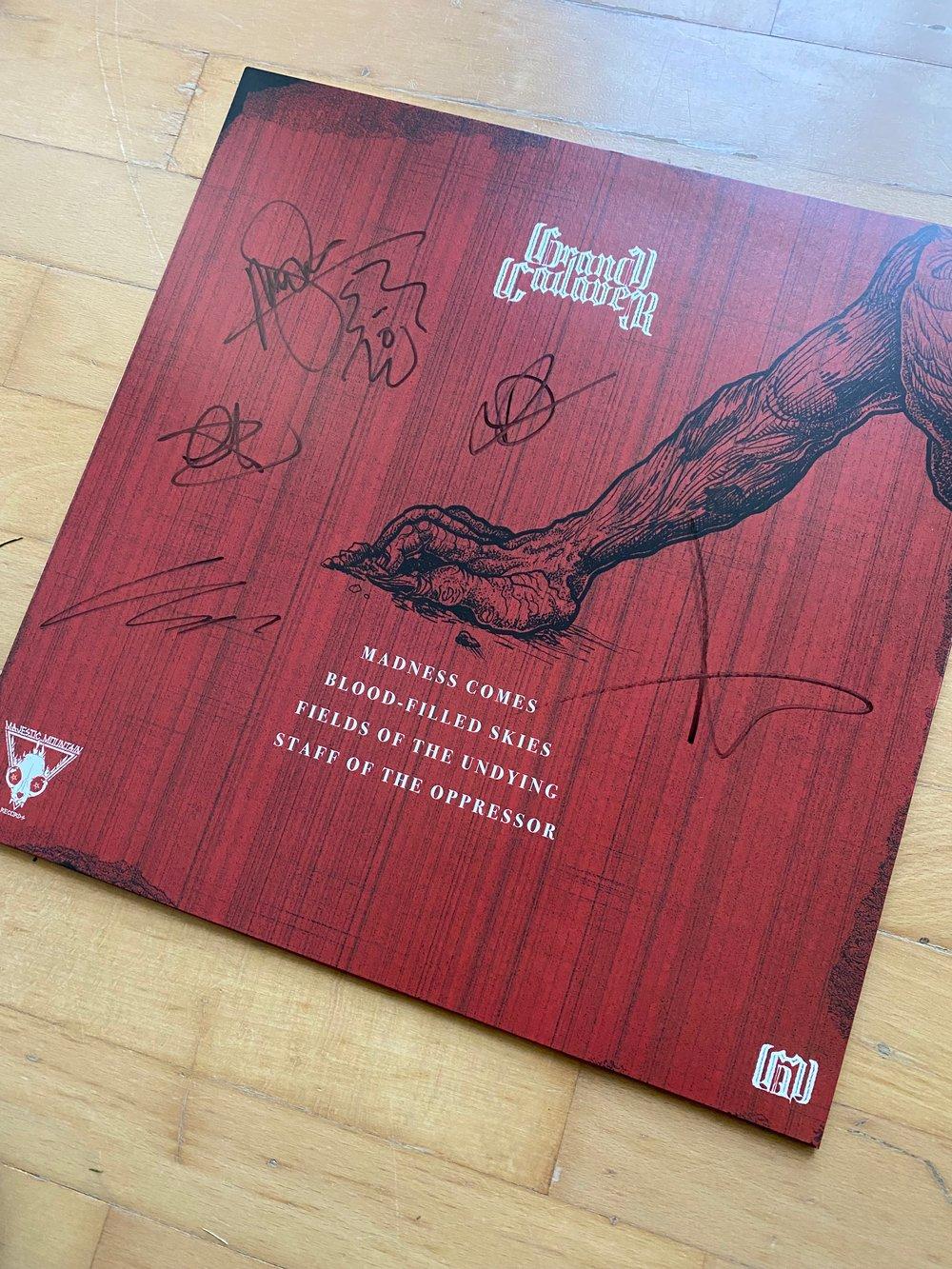 Grand Cadaver - Madness Comes (signed)