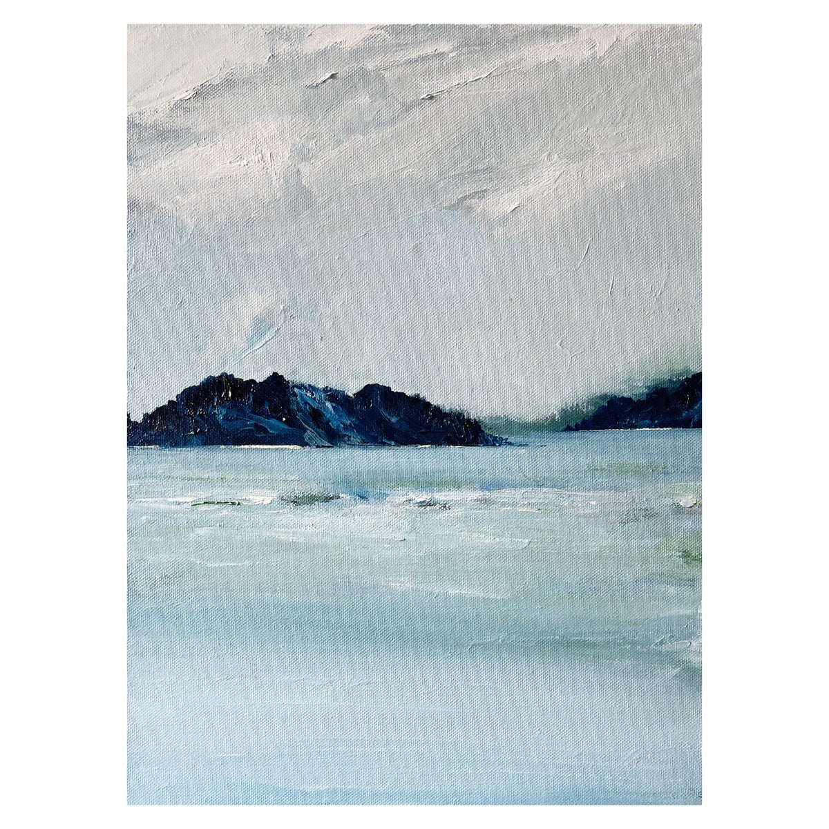 Image of 'Sandy Island' 2021 Oil on Canvas