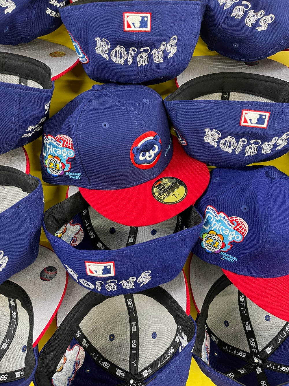 Image of Chicago Cubs two tone x - Savior Tour Coming soon
