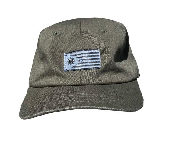 Image of Fil-am Dad hat Olive green