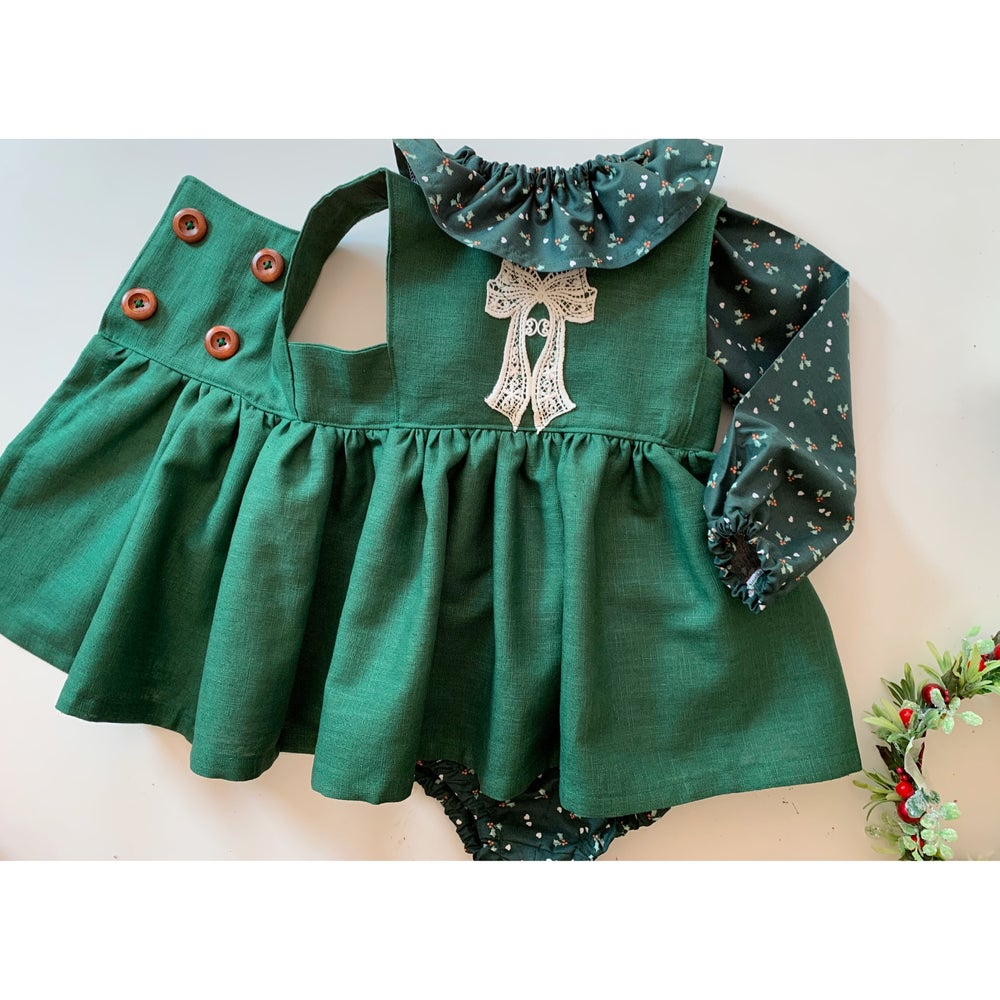Image of The Christmas holly three piece