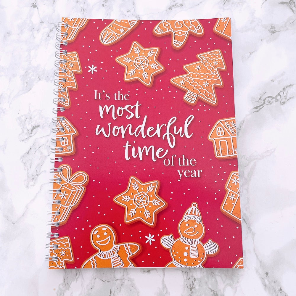 Image of 12 WEEK SPIRAL CHRISTMAS FOOD DIARY - IT'S THE MOST WONDERFUL TIME OF THE YEAR