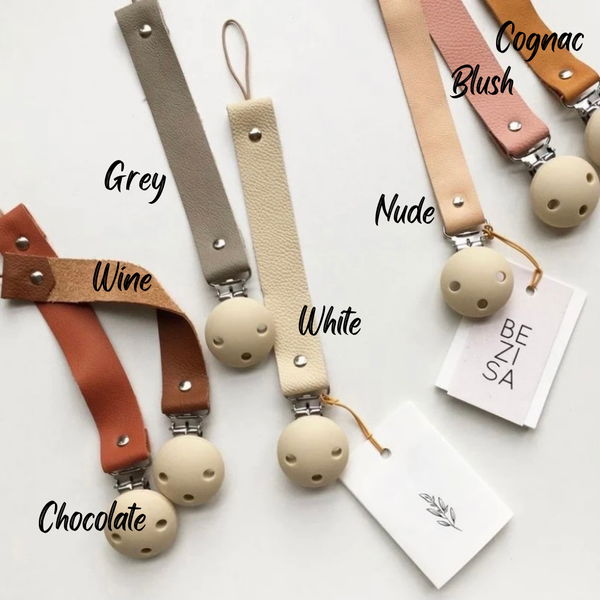 Image of BEZISA: Leather clip - 5 colours