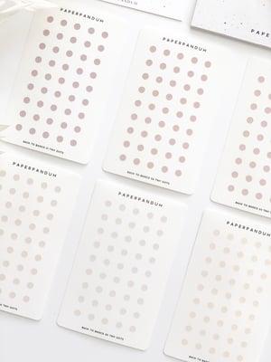 Image of Tiny Back To Basics Dots Transparent Set