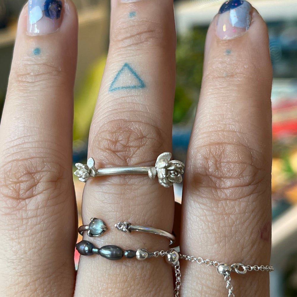 Image of tiny succulents ring