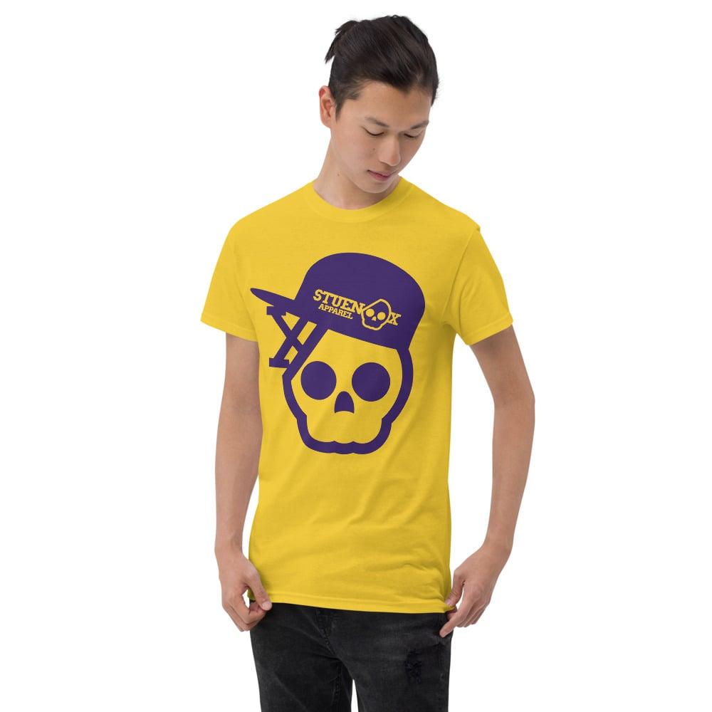 Image of Purple Royalty Skull T-Shirt