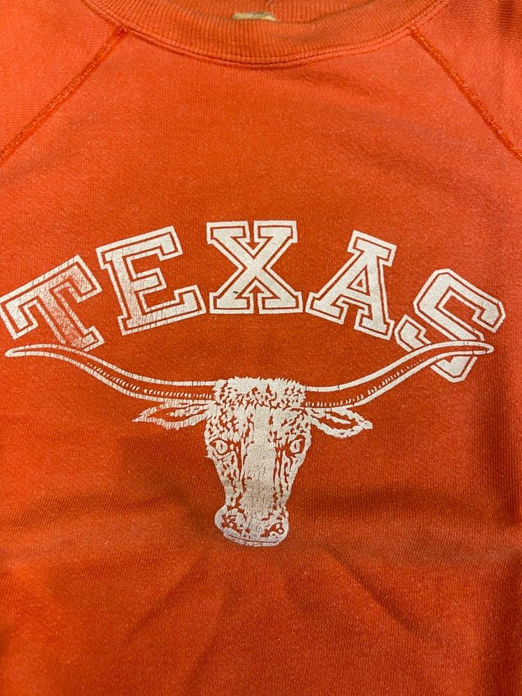Image of 60s Texas sunfaded sweatshirt