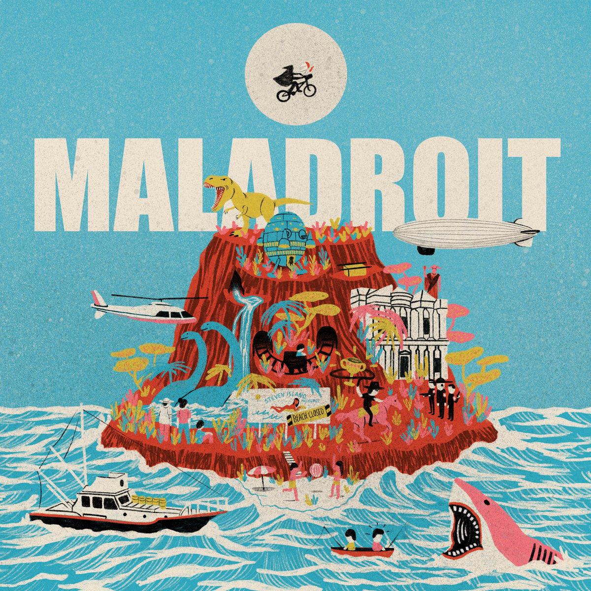 "Image of Maladroit - Steven Island 12"" ep"