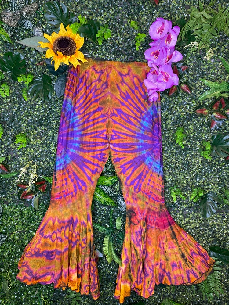 Image of Tie Dye Flares - Athens