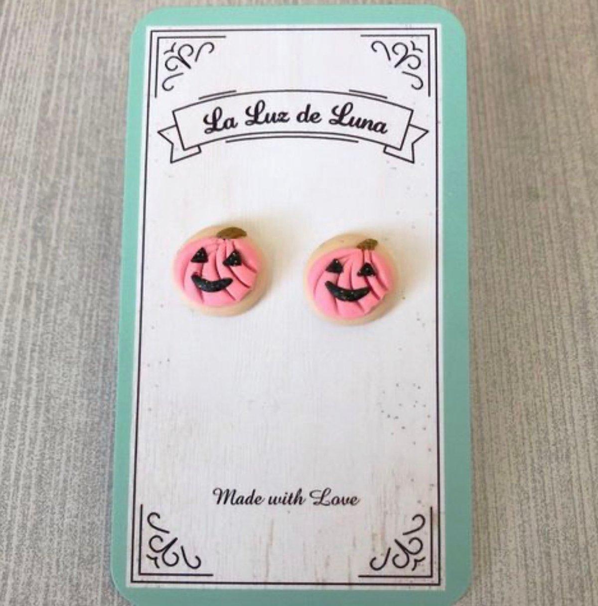 Pastel Pumpkin Earrings
