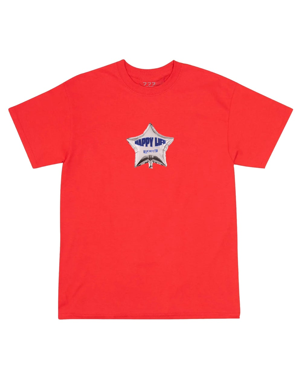 Image of HAPPY LIFE TEE (RED)