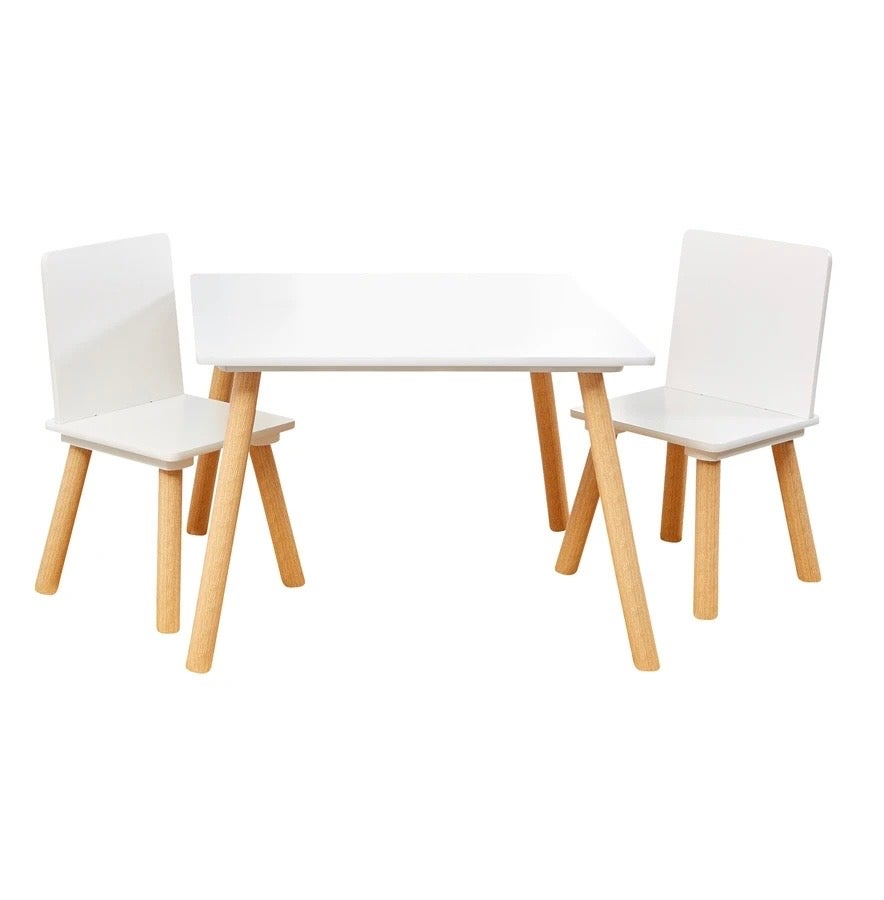 Image of Childrens Table & Chair Set