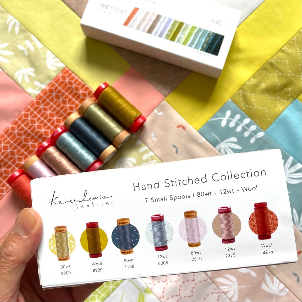 Image of Hand Stitched Aurifil Collection