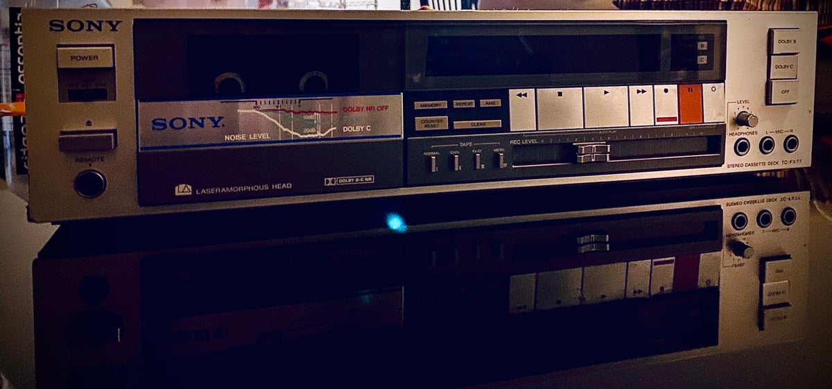 Image of Sony Tc-Fx77 stereo tape deck