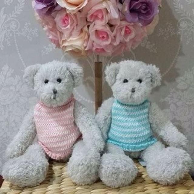 Image of Baby Bundle - Baby blanket and teddy