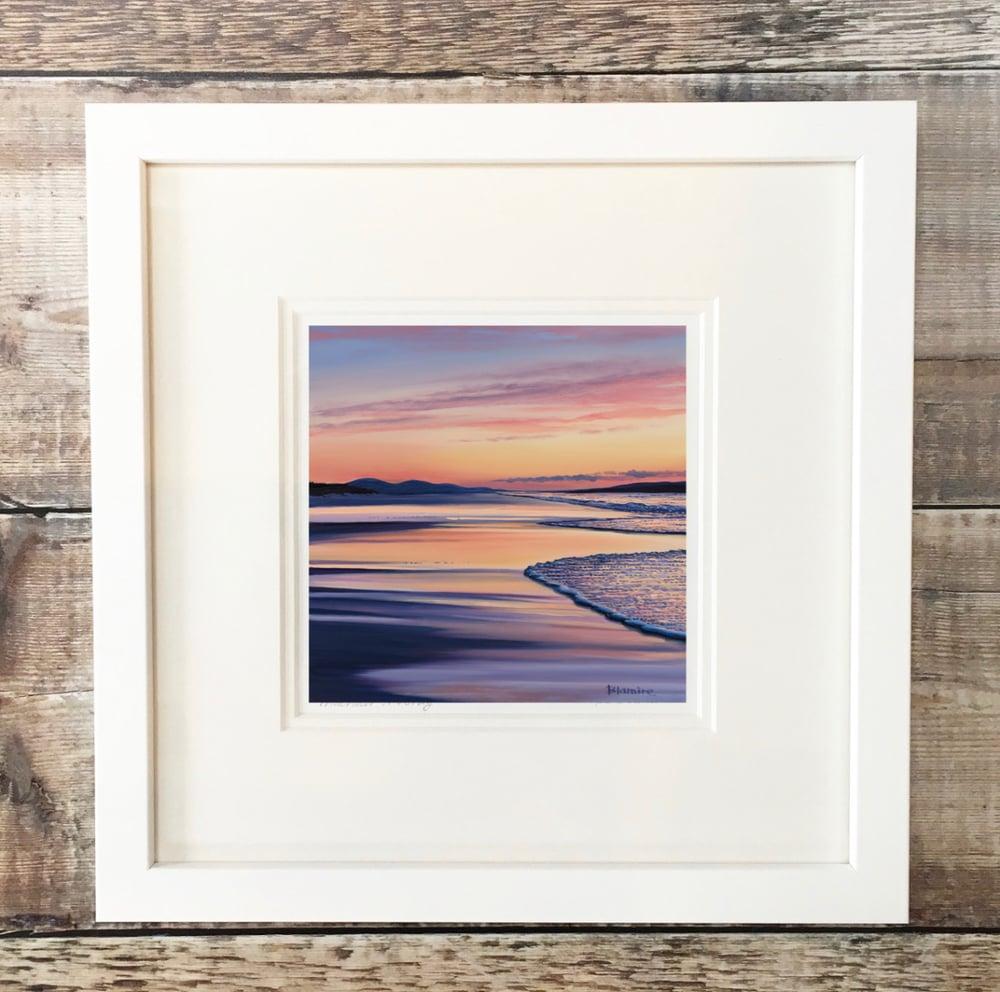 Image of Luskentyre sunset giclee print