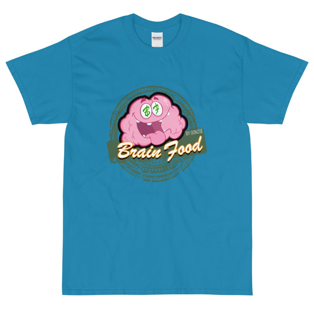 """Brain Food"" By Gonzoe Short Sleeve T-Shirt"