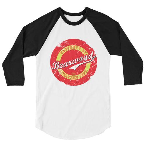 Image of 3/4 sleeve BW Baseball Tee