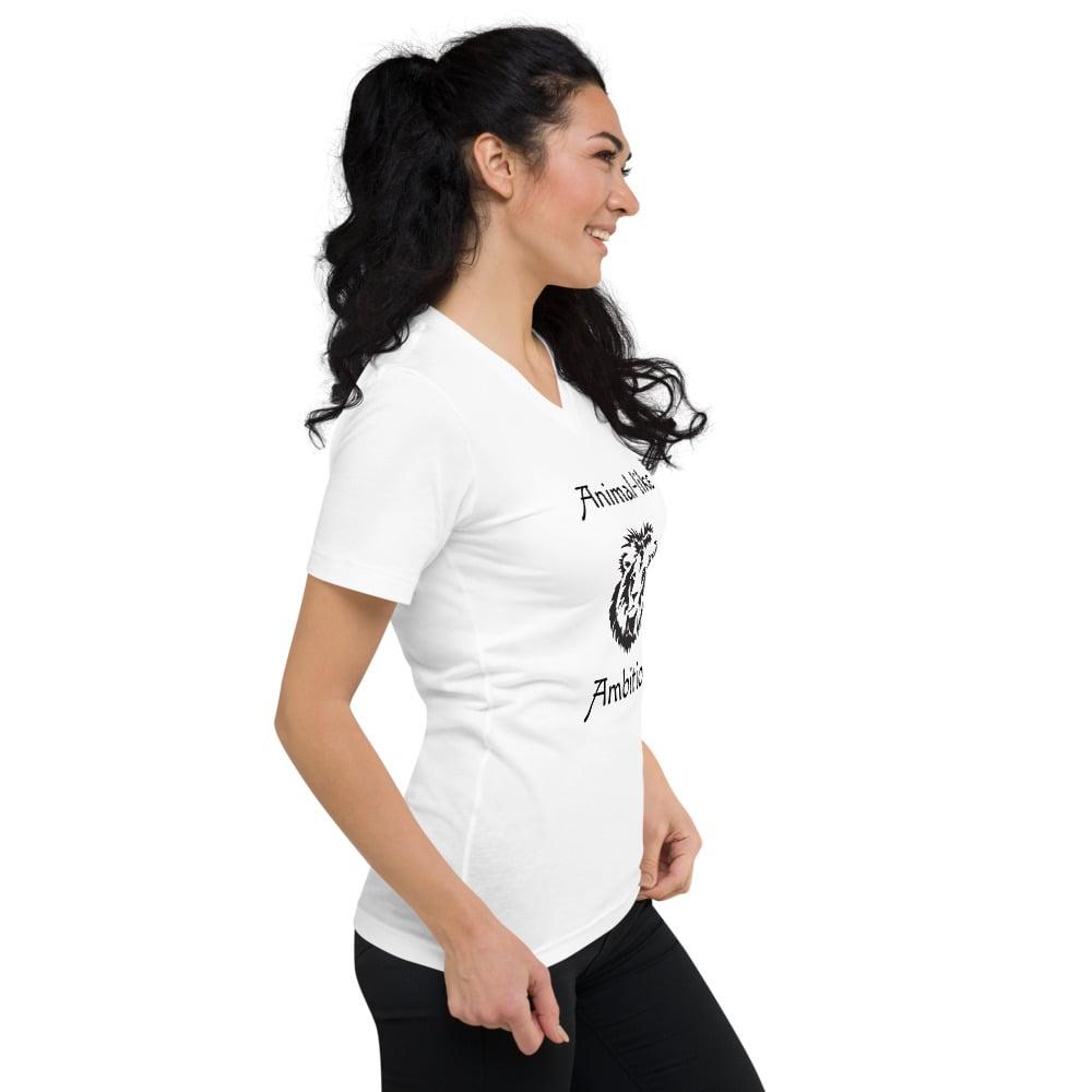 Image of Tom's Animalistic Ambition Unisex V-Neck T-Shirt