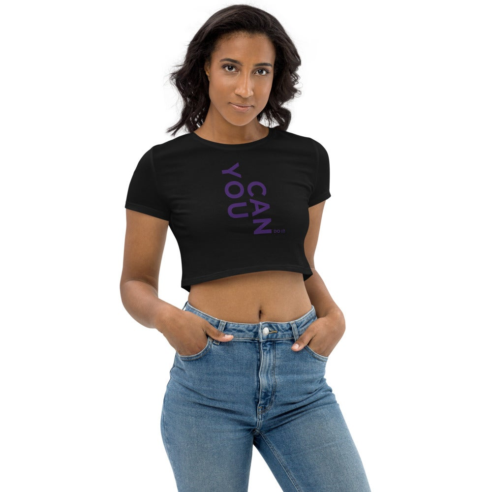 Image of You Can Do it  Crop Top
