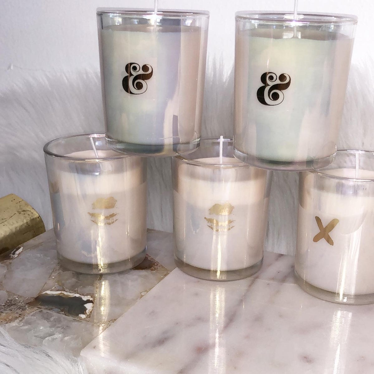 Image of IRIDESCENT SOY WAX CANDLE