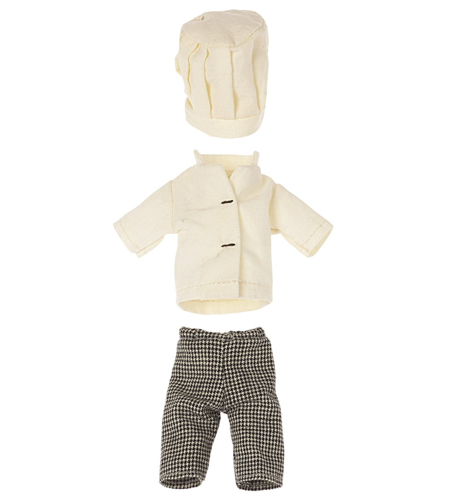 Image of Maileg - Chef Clothes For Mouse