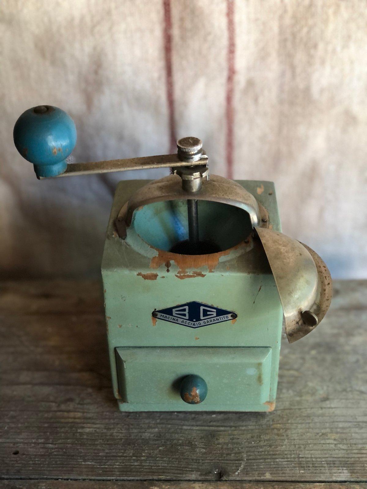 Image of Italian coffee grinder