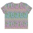 Image 2 of Corny All-Over Print punny Crop Top Tee