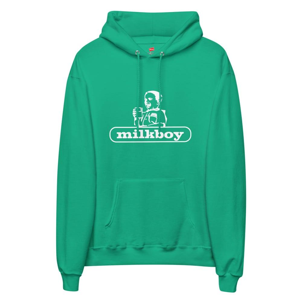 Image of Unisex fleece hoodie