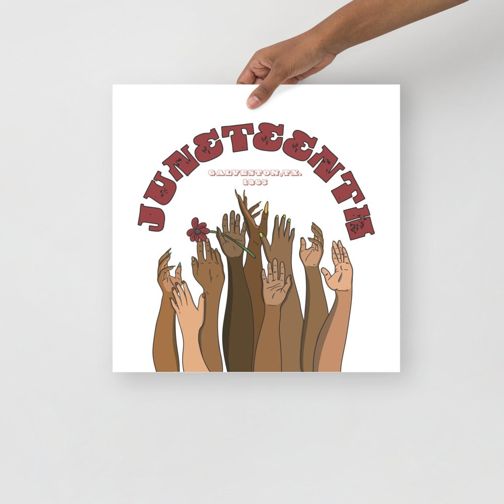 Image of Juneteenth poster