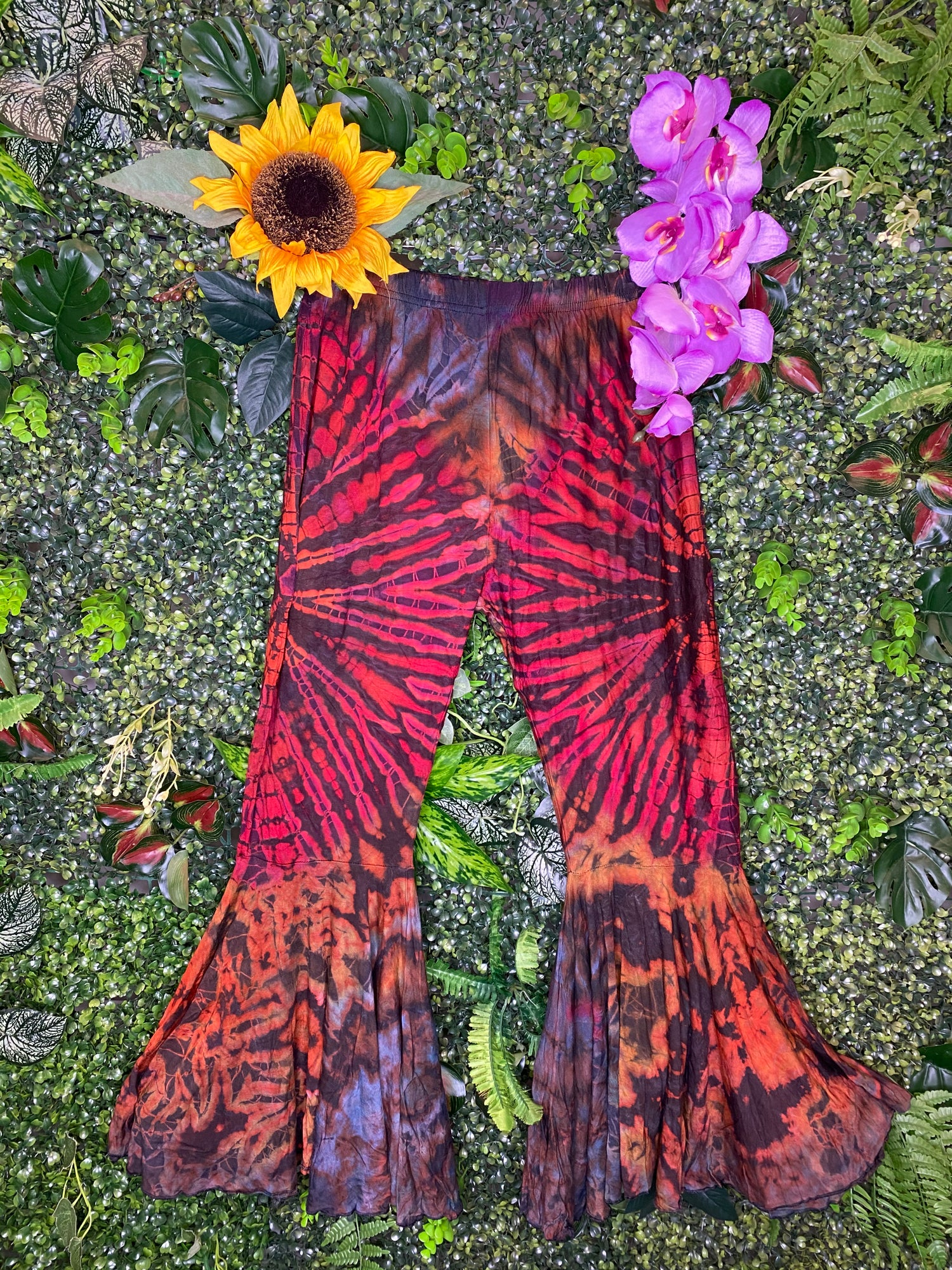 Image of Tie Dye Flares - Corfu