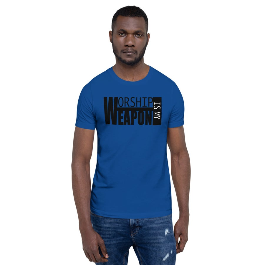 Image of Worship Weapon Box Men T-Shirt