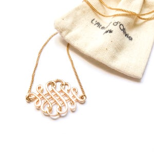 Image of Collier INFINI - INFINITY Necklace