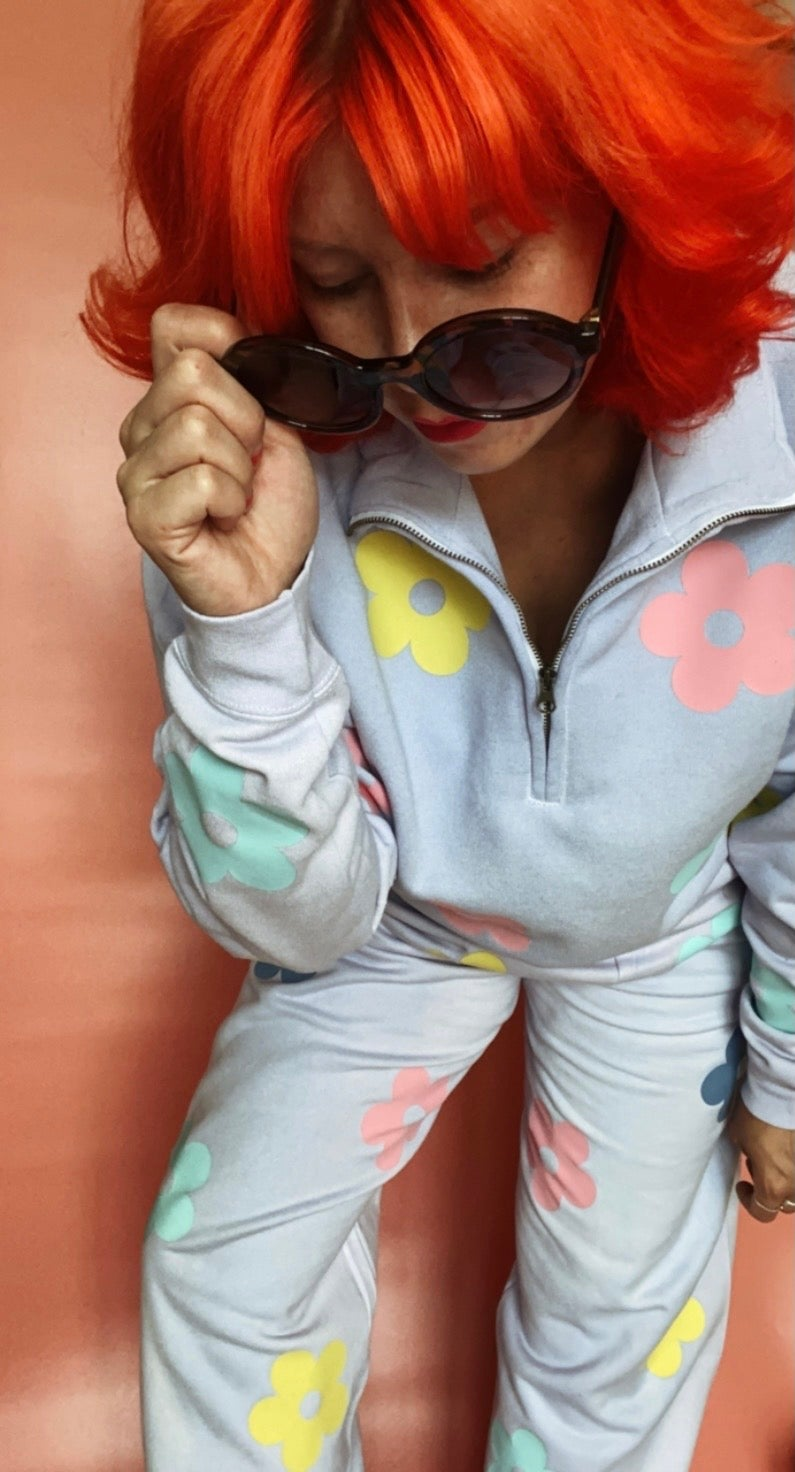 Image of Lilac Daisy Tracksuit