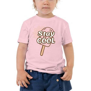 Image of Stay Cool With Ronnie Toddler Tee
