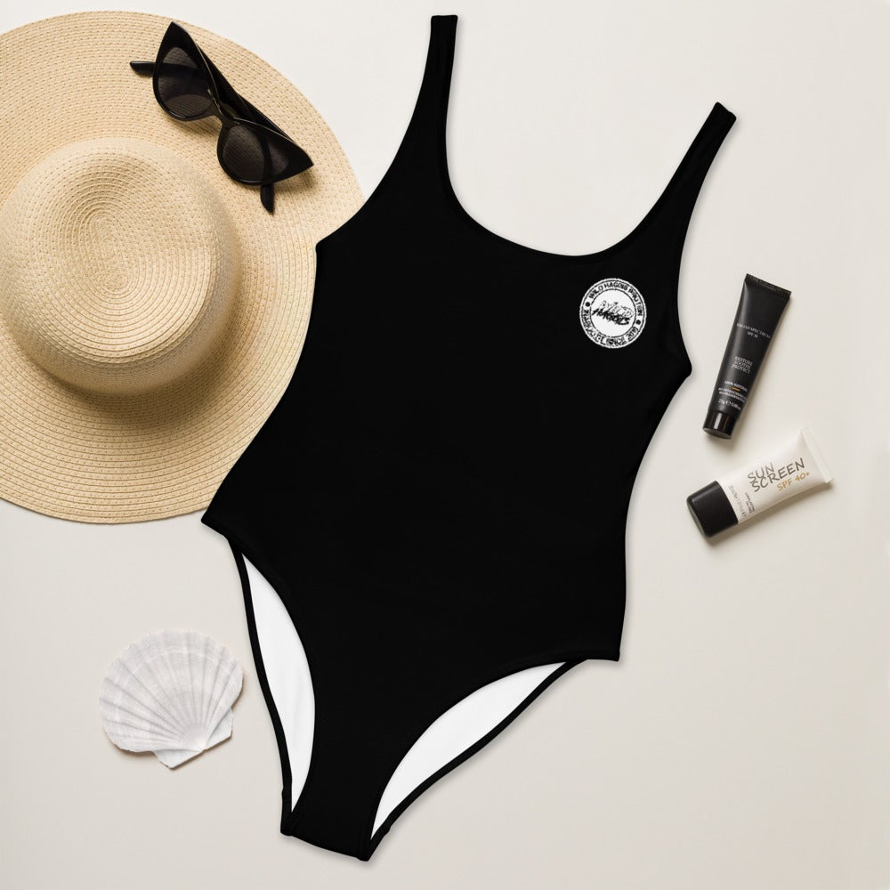 Stamp One-Piece Swimsuit