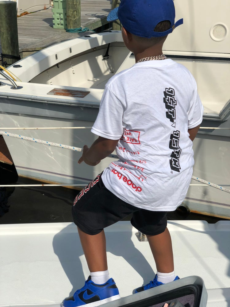 Image of DOPE BOY TROY  1ST & 15TH  WARM UP TEE