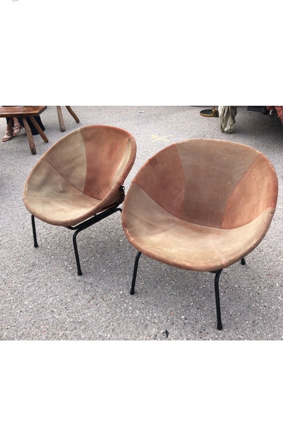 Image of Fauteuil sellerie daim