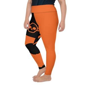Image of Orange As Orange Plus Size Leggings