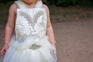 Image of The Christmas angel romper