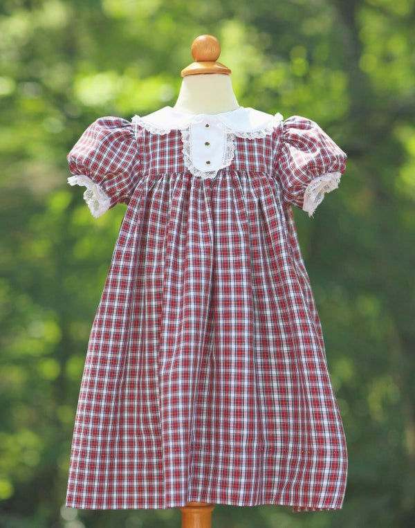 Image of 4T Sully Tartan Dress