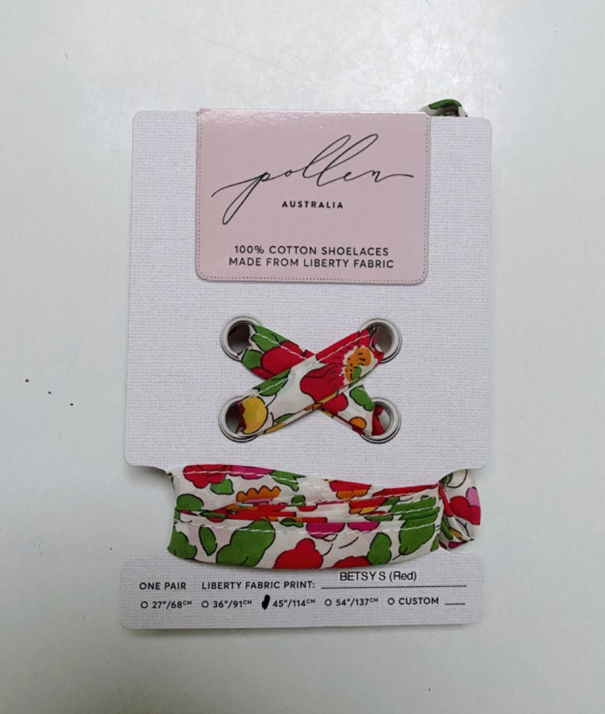 Image of Liberty Print Shoelaces in Betsy S (Large)