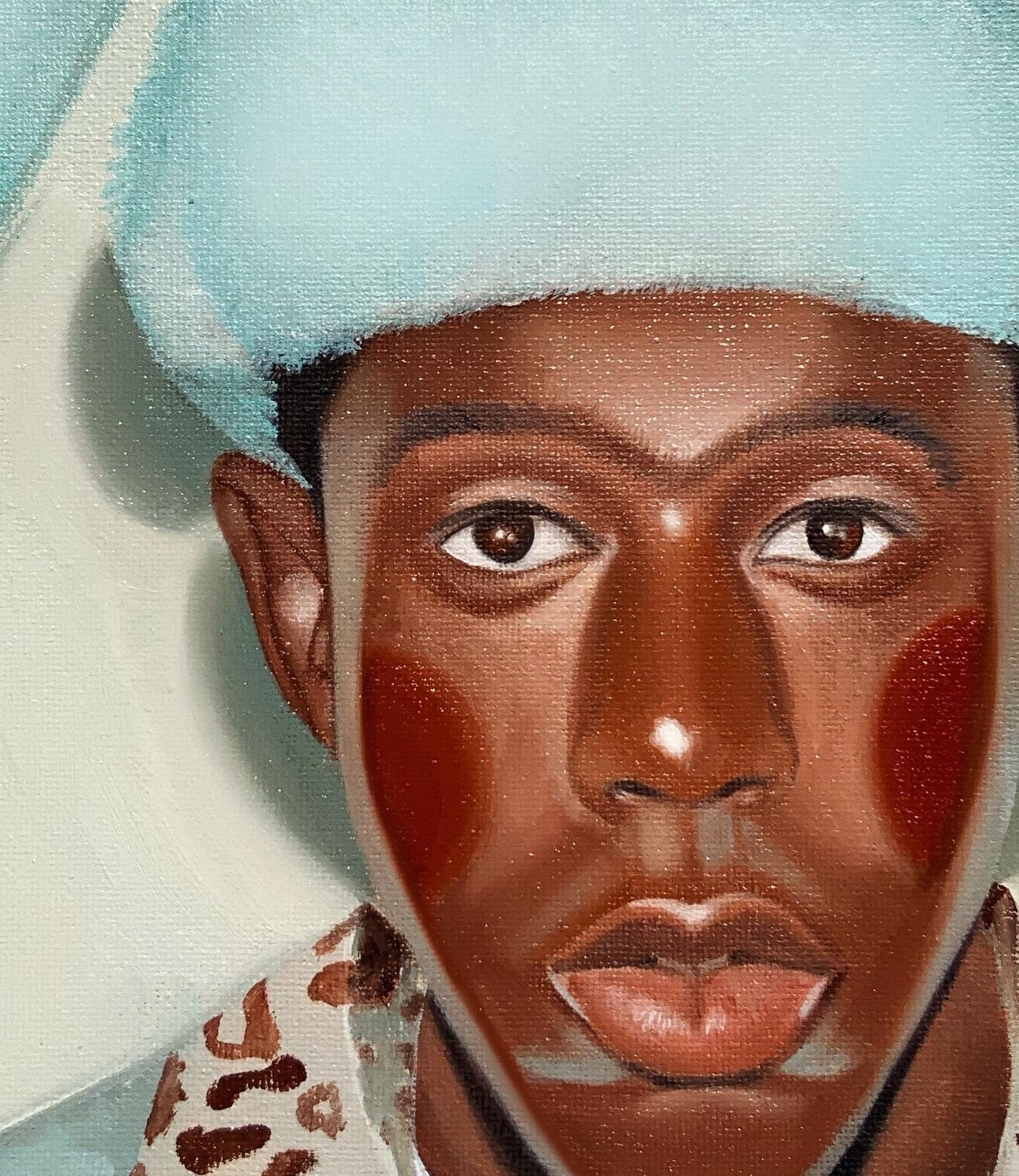 "Image of ""Bunnie Hop"" ORIGINAL Oil Painting"