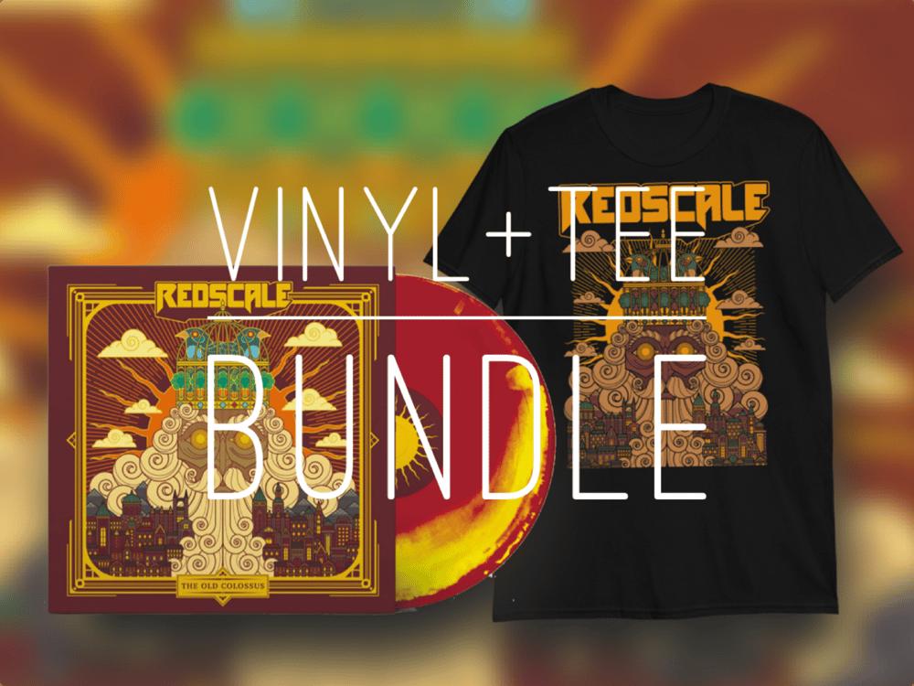 Redscale - Vinyl + tee bundle
