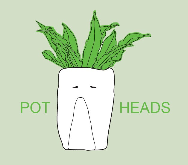 Pot Heads ceramics