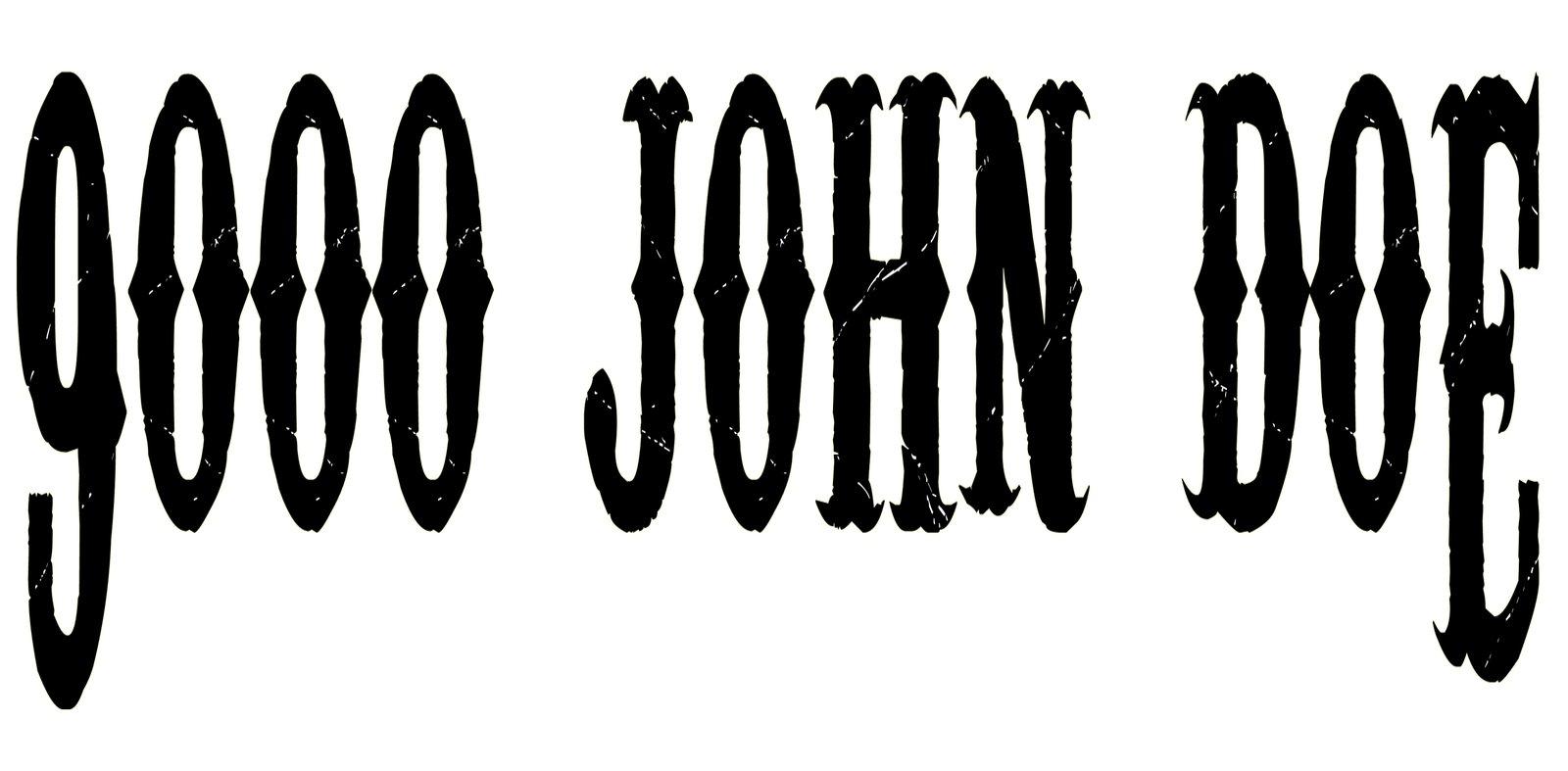 9000 John Doe