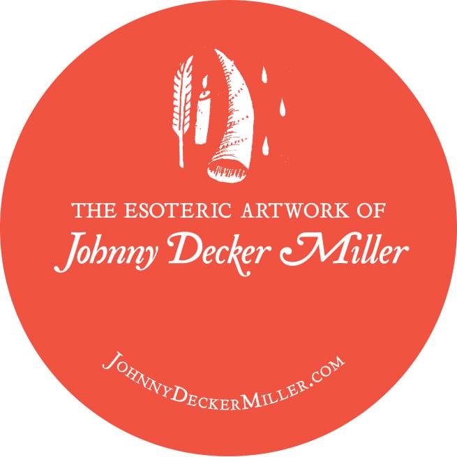 The Esoteric Artwork of Johnny Decker Miller